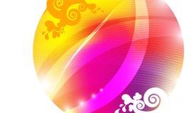 Круг Absraction цвета Стоковая Фотография