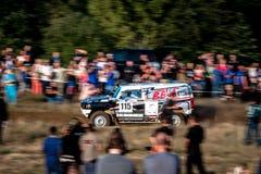 Круг Baja Польши 8 Lotto кубка мира FIA этого года для по пересеченной местностей вновь собирается Стоковые Фото