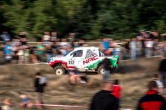 Круг Baja Польши 8 Lotto кубка мира FIA этого года для по пересеченной местностей вновь собирается Стоковая Фотография RF