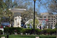 Круг Du Pont в DC Вашингтона Стоковое Изображение
