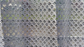 Кружевная белая ткань Стоковое фото RF