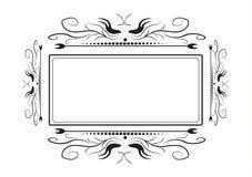 Кружевная рамка для фотографии на белой предпосылке бесплатная иллюстрация
