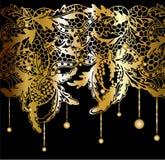 Кружевной декор Стоковое Изображение RF