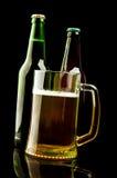 кружка бутылки пива Стоковая Фотография RF