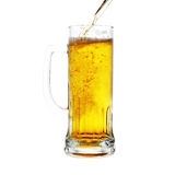 кружка бутылки пива Стоковые Изображения