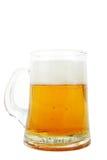 кружка изолированная пивом Стоковое Фото