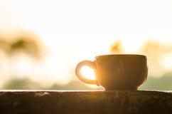 Кружка кофе или чашка чая стоковое фото rf