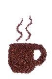 кружка кофе фасоли Стоковые Изображения RF