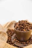 кружка кофе фасолей Стоковая Фотография RF