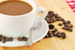 Кружка кофе beansand кофе Стоковые Фото
