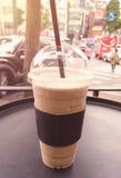 Кружка кофе frappe Стоковое Изображение RF