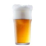 Кружка морозного пива с пеной Стоковые Фото