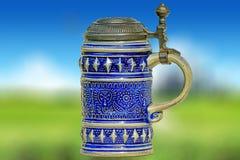 кружка пива керамическая Стоковые Фото