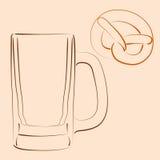 кружка пива Стоковые Изображения