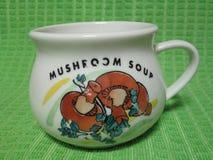 Кружка супа гриба Kambas Стоковые Фото