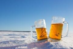 кружка холода пива стоковые изображения rf