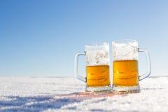 кружка холода пива Стоковые Изображения