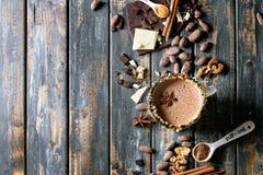 кружка шоколада горячая Стоковая Фотография RF