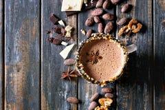 кружка шоколада горячая Стоковые Фотографии RF