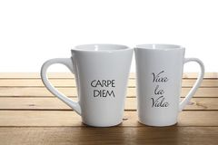 Кружки кофе Стоковые Изображения