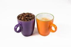 2 кружки кофе 03 Стоковые Фотографии RF