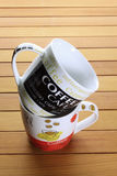 Кружки кофе Стоковые Изображения RF