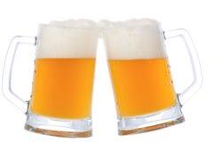 кружки пива 2 Стоковые Фото