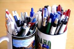 Кружки с ручками Стоковое Изображение RF