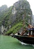 Круизы Вьетнам Halong стоковое фото rf