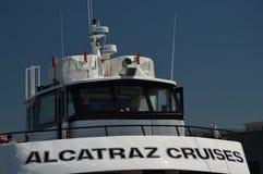 Круизы Alcatraz в порте Сан-Франциско, Калифорнии США Стоковая Фотография RF