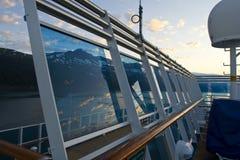 круиз Аляски к Стоковые Изображения RF