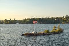 Круиз вокруг 1000 островов стоковая фотография