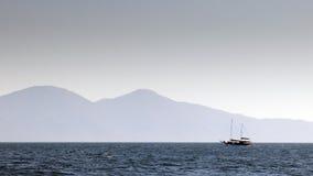 Круиз в эгейском Стоковые Изображения RF