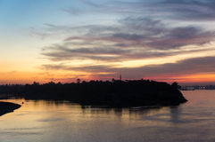 Круиз Египта Нила, красивое Стоковые Фото