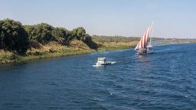 Круиз Египта Нила, славное Стоковые Изображения