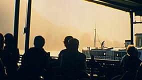Круиз захода солнца touristic видеоматериал