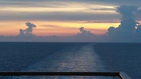 Круиз захода солнца Стоковое Изображение