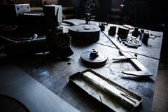 Крумциркули trammel Prossional и электрическая машина точильщика Стоковое фото RF