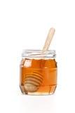 Крупного плана предпосылки ковша меда здоровая очень вкусного белого сладостная Стоковое Фото
