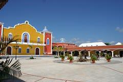 крупное поместье мексиканское стоковая фотография