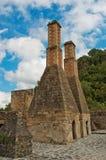 Крупное поместье Santa Maria Regla, идальго Мексика стоковые фото