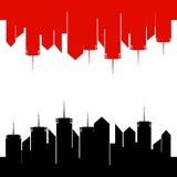 Крупно-город-жизнь- Стоковое Фото