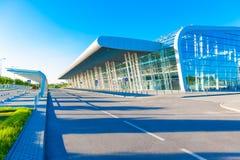 Крупный аэропорт снаружи Стоковое Изображение