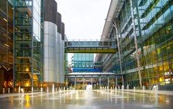 Крупный аэропорт 5 Хитроу Лондон Стоковое фото RF