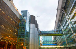 Крупный аэропорт 5 Хитроу Лондон Стоковое Изображение