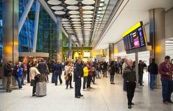 Крупный аэропорт 5 Хитроу Лондон Стоковая Фотография