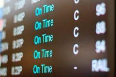 крупный аэропорт Стоковое фото RF