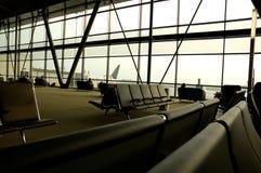 крупный аэропорт стоковые фото