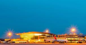Крупный аэропорт Стоковая Фотография RF