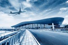 Крупный аэропорт стоковые изображения rf